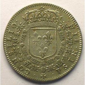 Photo numismatique  Monnaies Jetons & Médailles Jetons de l'Ancien Régime (Jetons royaux) Conseil du Roi Jeton rond en argent   1657    TB/TB+
