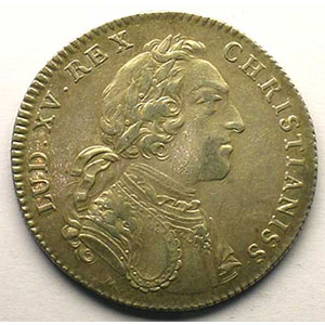 Photo numismatique  Monnaies Jetons & Médailles Jetons de l'Ancien Régime (Jetons royaux) Secrétaires du Roi jeton rond en argent   Louis XV   1731    TTB