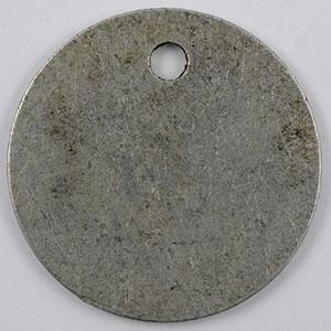 Photo numismatique  Monnaies Monnaies et jetons de nécessité CROISIC (LE)  (44) E.PROVOS (épicier) Elie 10,2   10 c   Al,Rtr 35 mm    TTB