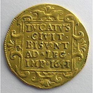 Photo numismatique  Monnaies Monnaies féodales et provinciales Franche-Comté Ville de Besançon Ducat   1641    TB+/TTB