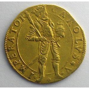 Photo numismatique  Monnaies Monnaies féodales et provinciales Franche-Comté Ville de Besançon Ducat   1642    TB+/TTB