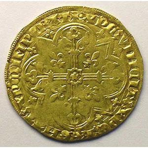 Photo numismatique  Monnaies Monnaies féodales et provinciales Duché de Brabant Jeanne et Wenceslas   (1355-1383) Mouton d'or (Vilvorde)    TTB