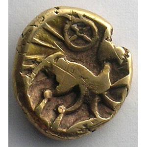 Photo numismatique  Monnaies Monnaies gauloises Nerviens Statère à l'epsilon    TTB