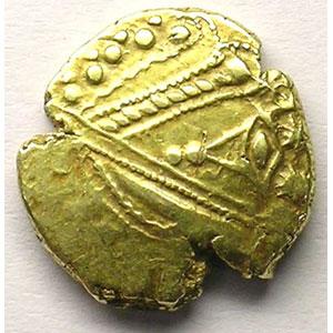 Photo numismatique  Monnaies Monnaies gauloises Trévires Statère d'or à l'œil anépigraphe    TB+/TTB