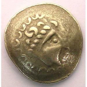 Photo numismatique  Monnaies Monnaies gauloises Incertaines de l'Est Statère type de Crainvilliers   (150-50 av.JC)    TB+/TTB