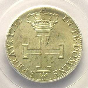 Photo numismatique  Monnaies Monnaies lorraines Duché de Lorraine Léopold I   (1690-1729) Teston 1712  flan neuf    PCGS-MS61    SUP/FDC