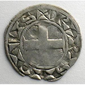Photo numismatique  Monnaies Monnaies royales françaises Louis VII   (1137-1180) Duplessy 146   Denier 3° type Paris    TB+