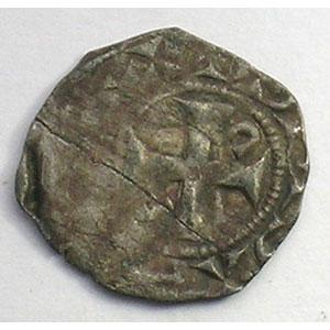 Photo numismatique  Monnaies Monnaies royales françaises Louis VI   (1108-1137) Duplessy 97   Obole de Dreux TB