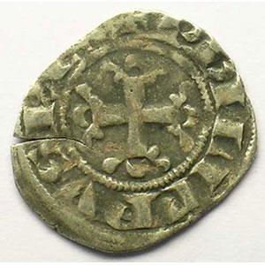 Photo numismatique  Monnaies Monnaies royales françaises Philippe IV   (1285-1314) Duplessy 227   Double Parisis TB+/TTB
