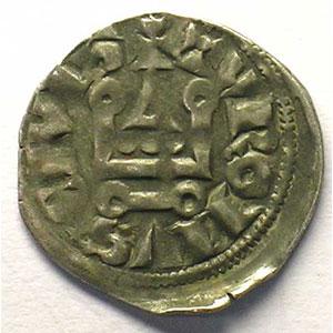 Photo numismatique  Monnaies Monnaies royales françaises Philippe IV   (1285-1314) Duplessy 223   Denier Tournois à l'O rond TTB/TTB+