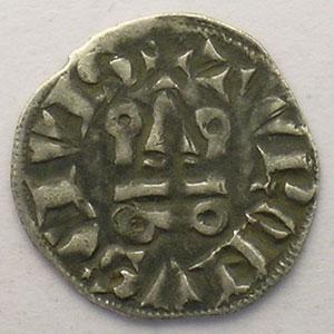 Photo numismatique  Monnaies Monnaies royales françaises Philippe IV   (1285-1314) Duplessy 225   Denier Tournois à l'O long TTB/TTB+