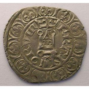 Photo numismatique  Monnaies Monnaies royales françaises Philippe VI   (1328-1350) Duplessy 262A   Gros à la Couronne, 2° émission TTB/TTB+
