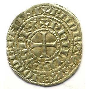 Photo numismatique  Monnaies Monnaies royales françaises Philippe IV   (1285-1314) Duplessy 219   Maille tierce à l'O rond TTB