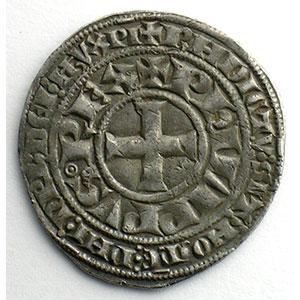 Photo numismatique  Monnaies Monnaies royales françaises Philippe IV   (1285-1314) Duplessy 217   Gros Tournois à l'O long et au lis TTB
