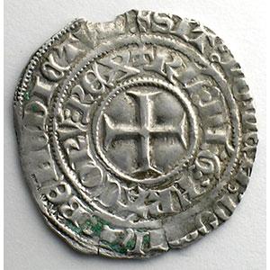 Photo numismatique  Monnaies Monnaies royales françaises Charles VI   (1380-1422) Duplessy 384   Gros aux lis sous une couronne TTB