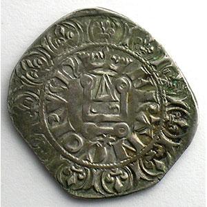 Photo numismatique  Monnaies Monnaies royales françaises Philippe VI   (1328-1350) Duplessy 262A   Gros à la Couronne, 2° émission TTB