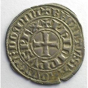 Photo numismatique  Monnaies Monnaies royales françaises Philippe IV   (1285-1314) Duplessy 219   Maille tierce à l'O rond TTB+