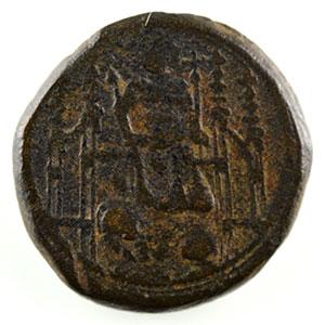 Photo numismatique  Monnaies Poids monétaires France Philippe VI   (1328-1350) Poids monétaire du Lion    TB