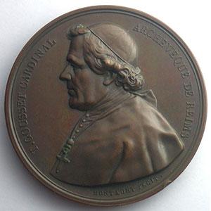 Montagny   Médaille en cuivre   55mm    SUP