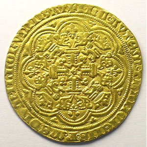 Noble d'or   (1351-1361)    TTB+