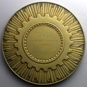 Paris   Médaille en argent doré   75mm   1947    SUP/FDC