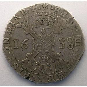 Patagon   Philippe IV (1621-1665)   1638   Dôle    TTB