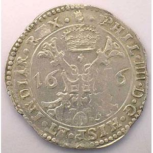 Patagon   Philippe IV (1621-1665)   1656 Anvers    TTB/TTB+