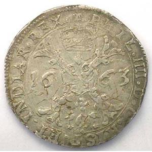 Patagon   Philippe IV (1621-1665)   1663 Bruges    TTB