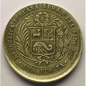 Peseta   1880    TTB