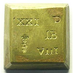 Poids monétaire de la pièce de 8 réal    TB+/TTB