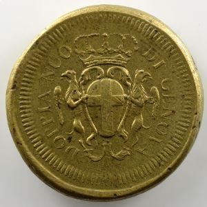 Poids monétaire du 48 Lires de Gênes    TTB+