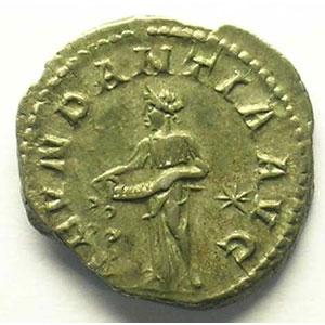 R/ ABVNDANTIA AVG   (Rome 220-221)    TTB