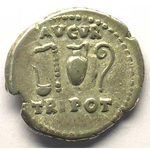 R/ AVGVR TRI POT   (Rome 72-73)    TB+