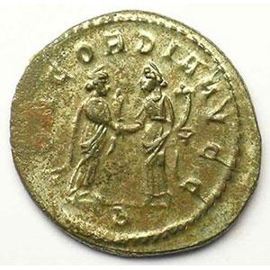 R/ CONCORDIA AVGG   (Lyon/Lugdunum 293-294)    TTB