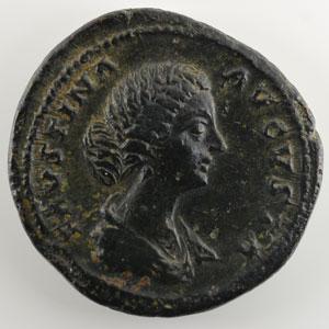 R/ DIANA LVCIF(ERA)   (Rome 161-175)    TB+