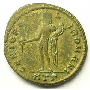 R/ GENIO POPVLI ROMANI   (Héraclée/Heraclea 296-297)    TB+