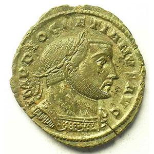 R/ GENIO POPVLI ROMANI   (Lyon/Lugdunum 301-303)    TTB+