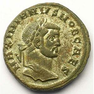 R/ GENIO POPVLI ROMANI   (Rome 296-297)    TTB+