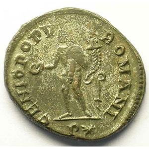 R/ GENIO POPVLI ROMANI   (Rome 298-299)    TTB