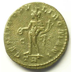 R/ GENIO POPVLI ROMANI   (Trèves/Trier 295)    TB/TTB