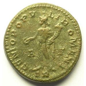 R/ GENIO POPVLI ROMANI   (Trèves/Trier 296-297)    TB+/TTB