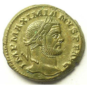 R/ GENIO POPVLI ROMANI   (Trèves/Trier 296-297)    TTB+
