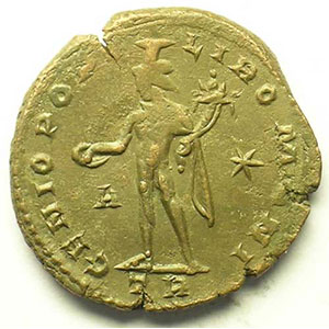 R/ GENIO POPVLI ROMANI   (Trèves/Trier 298-299)    TB+/TTB