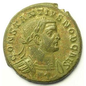 R/ GENIO POPVLI ROMANI   (Trèves/Trier 298-299)    TTB/TTB+