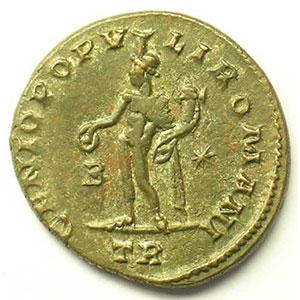 R/ GENIO POPVLI ROMANI   (Trèves/Trier 298-299)    TTB