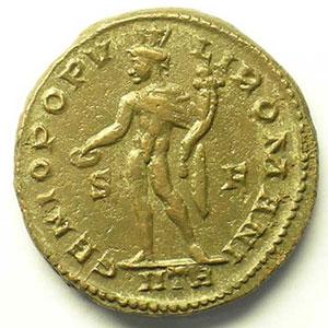 R/ GENIO POPVLI ROMANI   (Trèves/Trier 302-303)    TTB