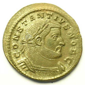 R/ GENIO POPVLI ROMANI   (Trèves/Trier 302-303)    TTB+