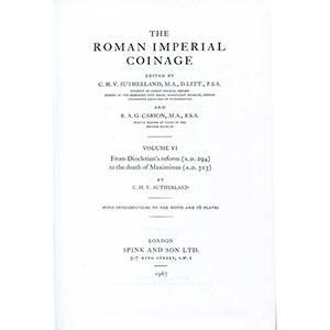 R.I.C.   vol. VI   Dioclétien à Maximinus (284-310)