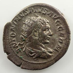 R/ P M TR P XVIIII COS IIII P P  (Rome 216)    TTB