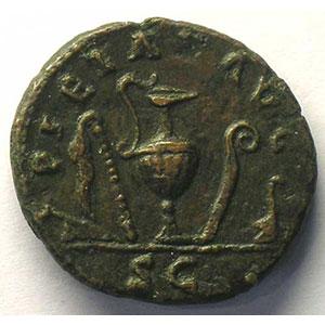 R/ PIETAS AVG  SC   (Rome 142)    TTB